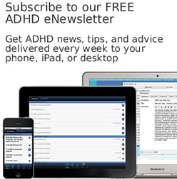 subscribe to our free ADHD Newsletter